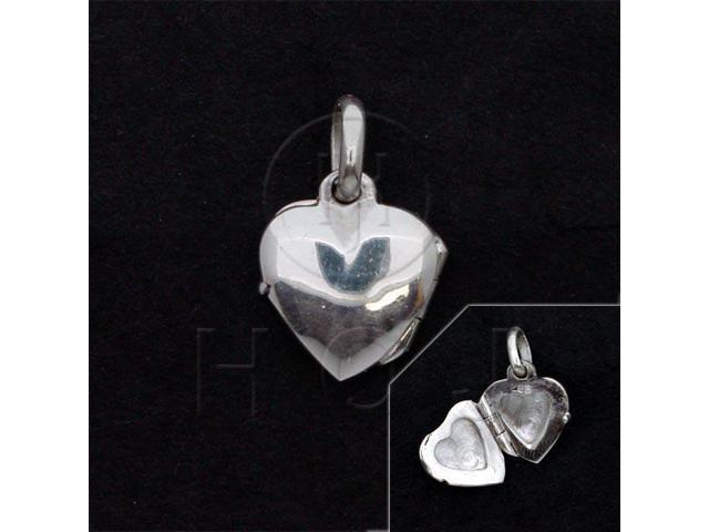 Sterling Silver Heart Locket 11mm