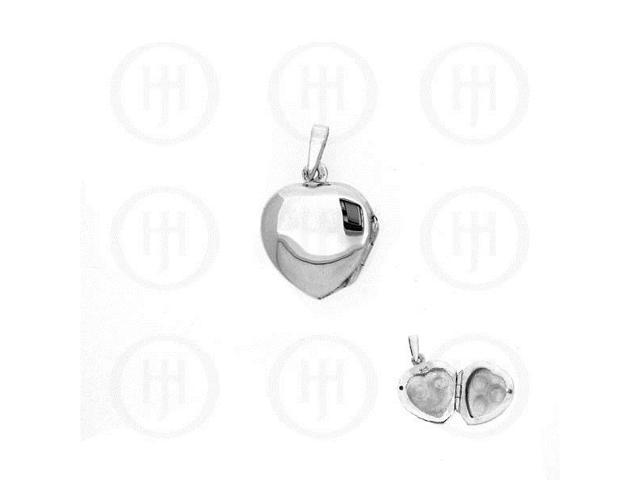Sterling Silver Heart Locket 16mm x 16mm