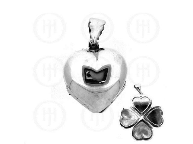 Sterling Silver Heart Locket 21mm x 21mm