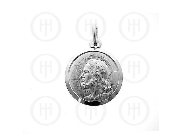 Sterling Silver Religious Jesus Pendant