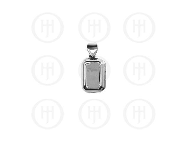 Sterling Silver Rectangle Locket
