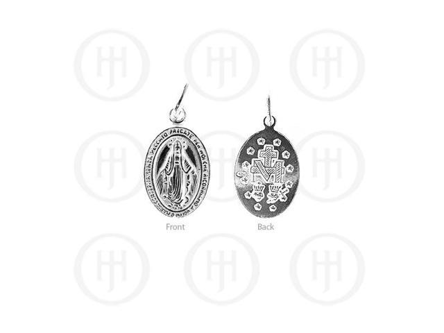 Sterling Silver Religious Pendant