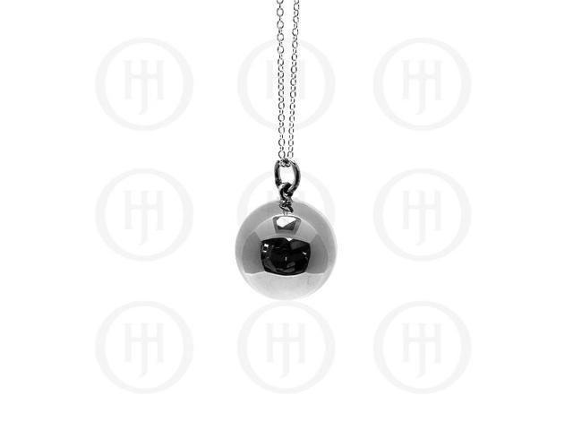 Sterling Silver 21mm Ball Pendant
