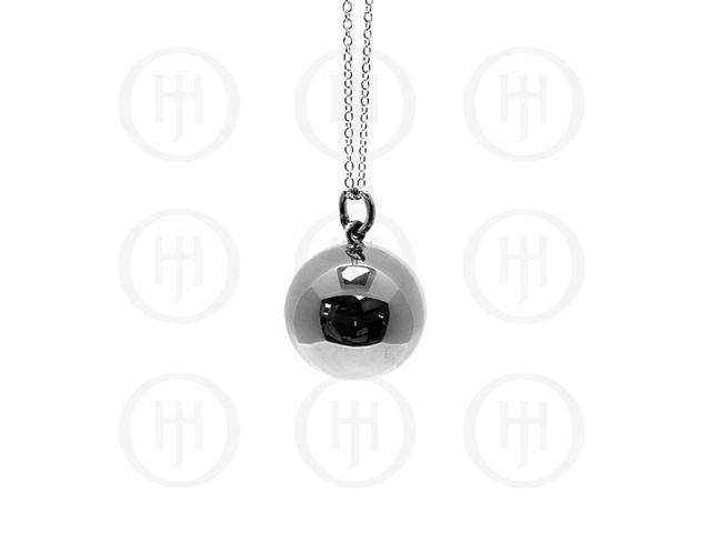 Sterling Silver 23mm Ball Pendant