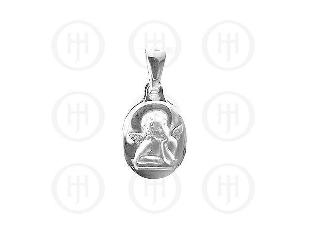 Sterling Silver Religious Pendant Angel Pendant