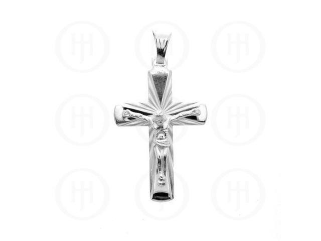 Sterling Silver Religious Pendant Cross