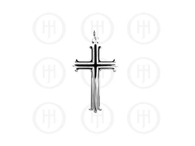 Sterling Silver Religious Pendant Cross