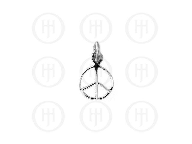 Sterling Silver Peace Pendant Small