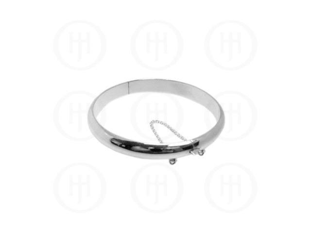 Sterling Silver Bangle 10mm