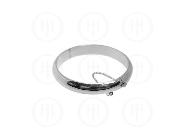 Sterling Silver Bangle 12mm