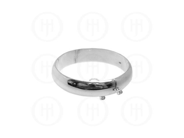 Sterling Silver Bangle 14mm