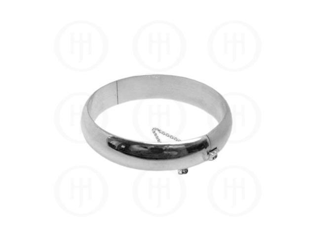 Sterling Silver Bangle 16mm