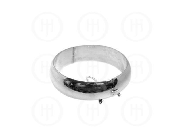 Sterling Silver Bangle 18mm