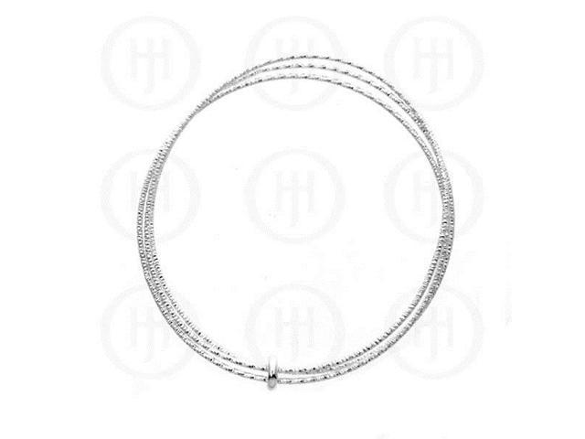 Sterling Silver Bangle 1mm