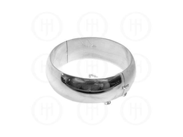 Sterling Silver Bangle 23 mm