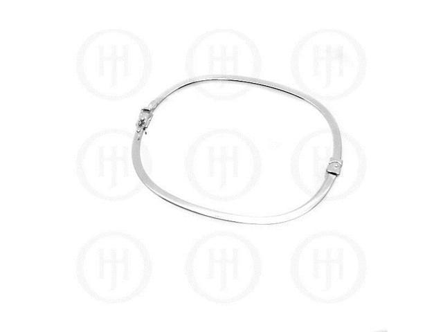 Sterling Silver Bangle 3.2mm