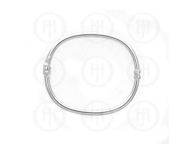 Sterling Silver Bangle 3.5mm