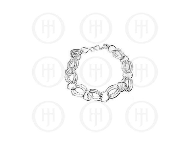 Sterling Silver Fancy Italian Bracelet