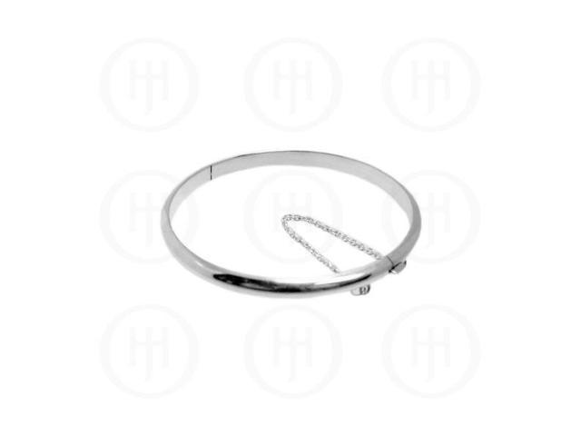 Sterling Silver Bangle 5mm