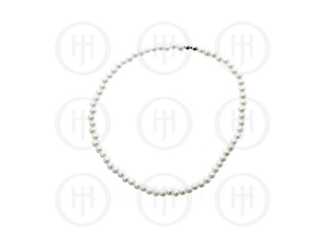 Sterling Silver Pearl Ball Bracelet