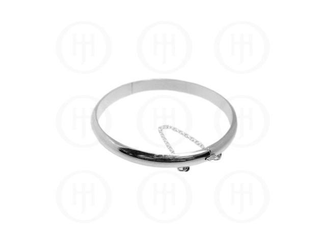 Sterling Silver Bangle 7mm