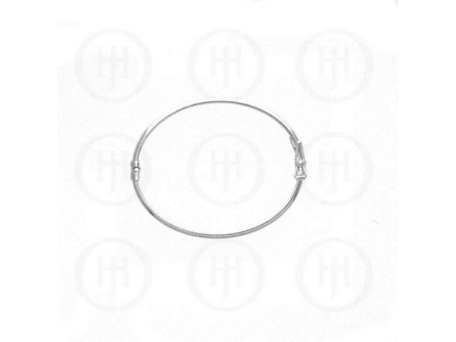 Sterling Silver Baby Bangle 50mm