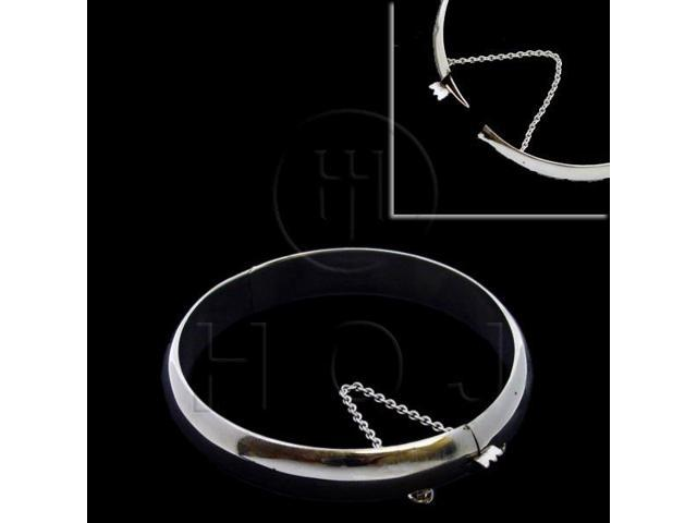 Sterling Silver Bangle 9mm