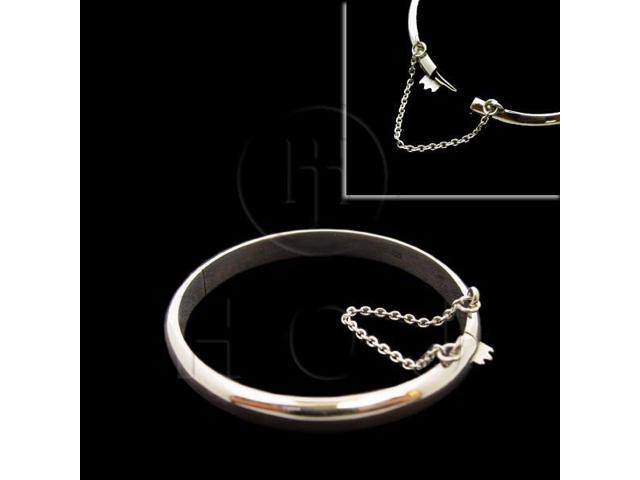 Sterling Silver Bangle Baby 45mm