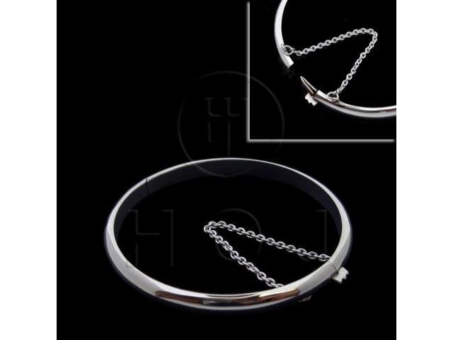 Sterling Silver Bangle Baby 50mm