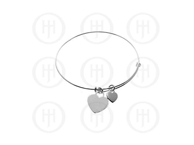 Sterling Silver Expandable Bangle Italian
