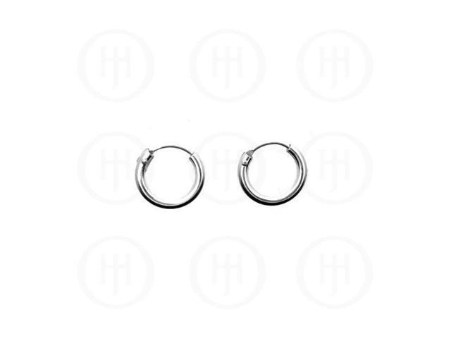 Sterling Silver Hoop 12 x 3mm