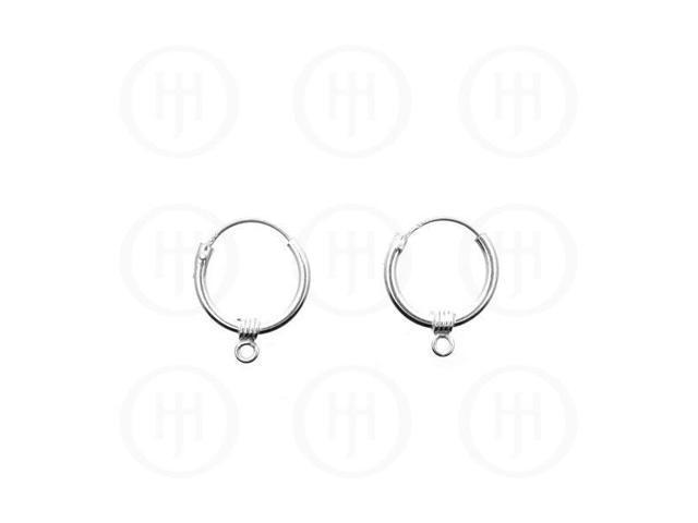 Sterling Silver Hoop 12.5mm x 1.5mm