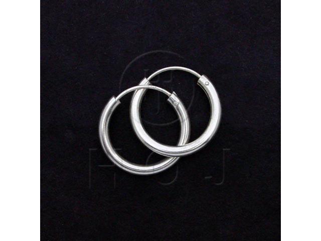 Sterling Silver Hoop 20 x 2.5mm