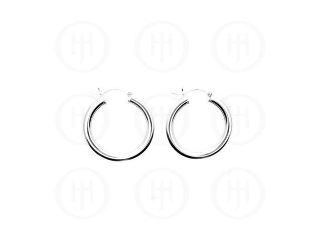 Sterling Silver Hoop 20mm x 4mm