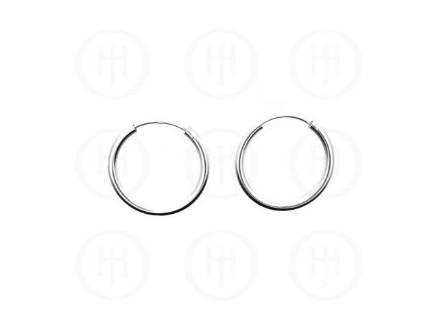 Sterling Silver Hoop 23mm x 2.25mm