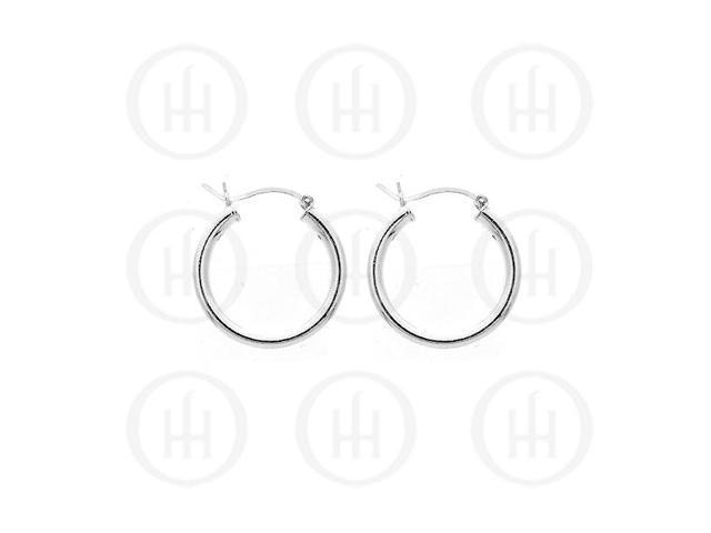 Sterling Silver Hoop 25 x 3mm