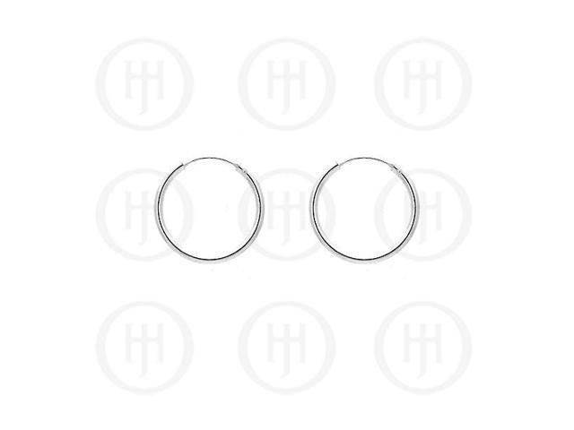 Sterling Silver Hoop 25mm x 2.25mm