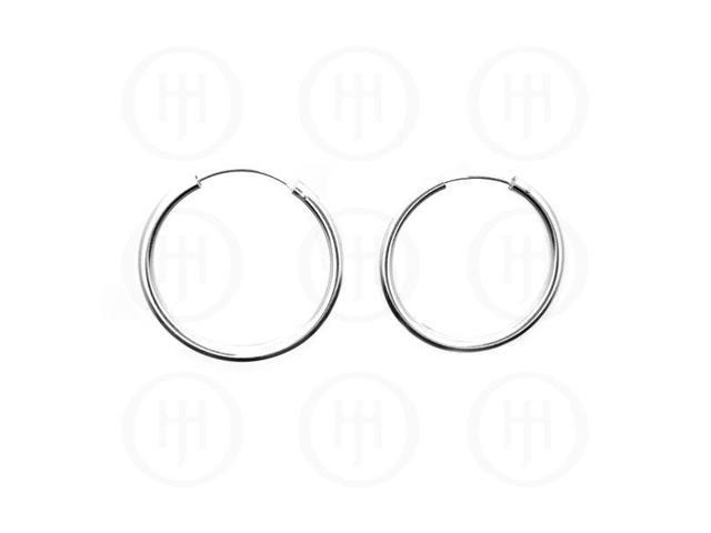 Sterling Silver Hoop 28mm x 2.25mm
