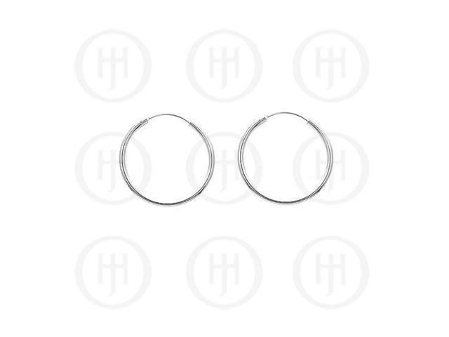 Sterling Silver Hoop 30mm x 2.25mm