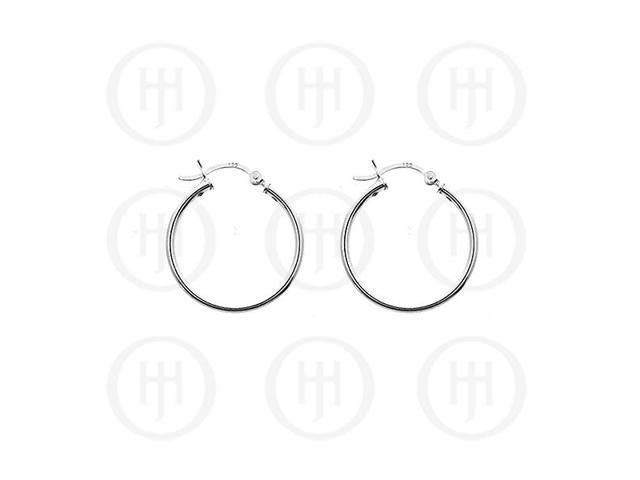 Sterling Silver Hoop 30mm x 2mm