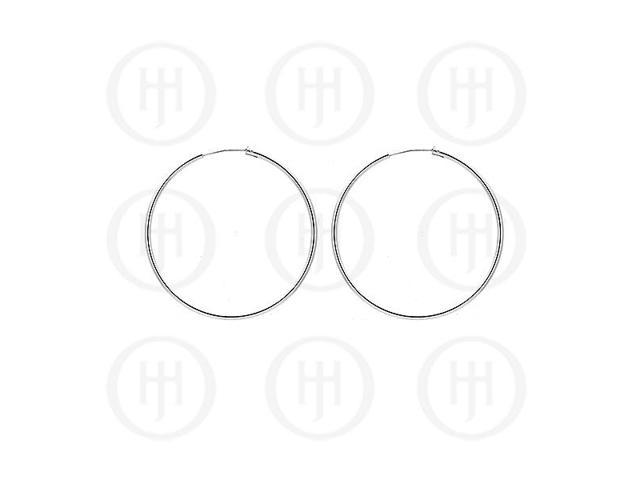 Sterling Silver Hoop 45mm x 2.25mm