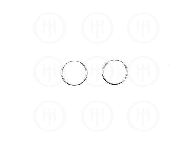Sterling Silver Sleeper Hoop 16mm x 1.25mm