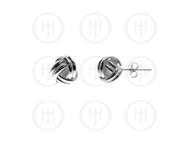 Sterling Silver 10mm Stud Earrings