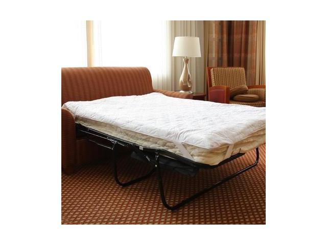 Memory Foam Sofa Bed Pillow Top Mattress Pad Queen 60 x