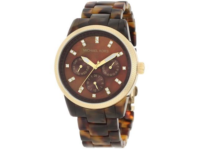 Michael Kors Tortoise Jet Set Women's Watch - MK5038