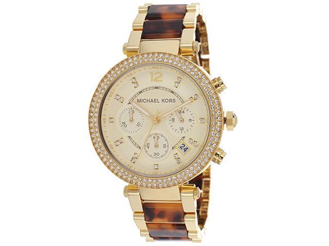 Michael Kors MK5688 Parker Chronograph Tortoiseshell Ladies Watch