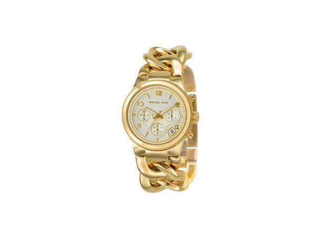 Michael Kors MK3131 Runway Twist Chronograph Gold-tone Women's Watch