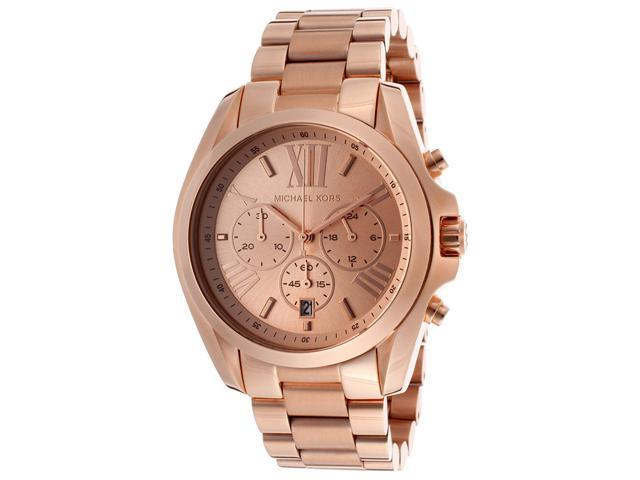 Michael Kors Bradshaw Chronograph Rose Gold-tone Watch MK5503