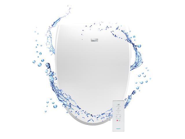 bio bidet a8 serenity advanced bidet toilet seat white elongated