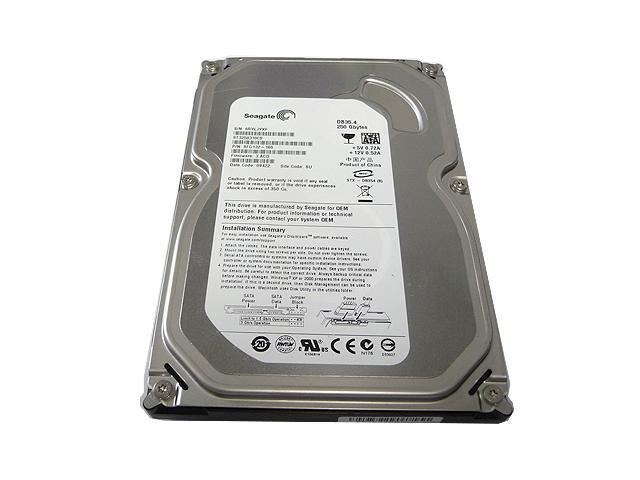 """Seagate ST3250310CS 250GB 7200 RPM 8MB Cache SATA 3.5"""" Internal Desktop Hard Drive - OEM w/1 Year Warranty"""